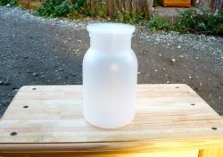 クワガタの幼虫飼育容器